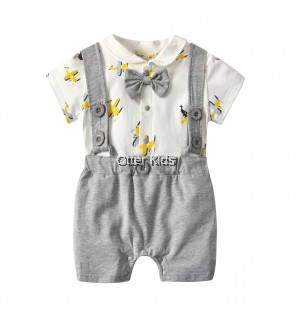 Baby Boy Kids fashion aircraft Bodysuit Set