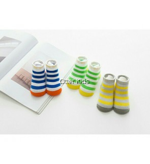 Baby Boy Socks Stripe Design 3 Pieces