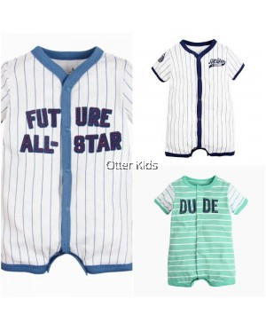 Baby Boy Short Onesies Rompers