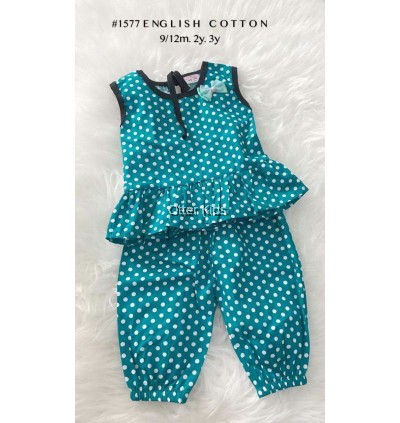 2-piece Baby Cotton Girl Set