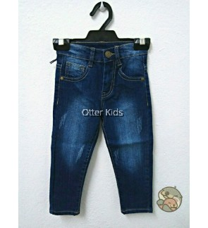 Boy Kids Denim Pants Ripped Jeans