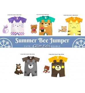 Jumpsuit Summer Bee