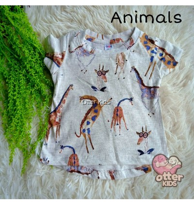 Motif Girl Shirt Q&K Baby Clothing - Part 1