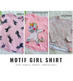 Motif Girl Shirt Q&K Baby Clothing - Part 2
