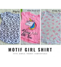 Motif Girl Shirt Q&K Baby Clothing - Part 3
