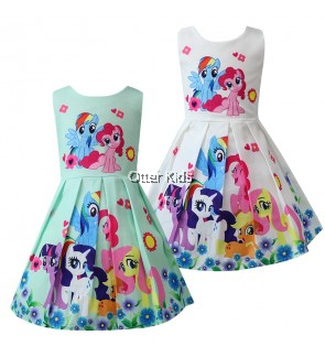 [Ready Stock] My Little Pony Dress Cotton (3-8 year old)