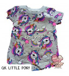 [Otter Kids] Girl T-Shirt QK Little Pony