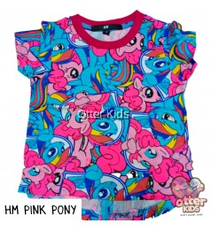[Otter Kids] Girl T-Shirt HM Pink Pony