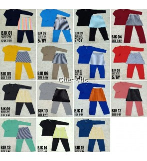 [CLEARANCE] Baju Melayu Cotton Kids Size (1y-6y) Raya Wear Kids Clothing