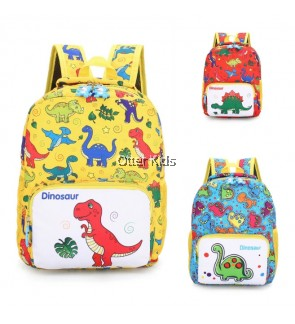 [READY STOCK MALAYSIA] Kids Gift Bag Cartoon Dinosaur Children Backpack 3-7Y Kids Bagpack Fashion School School Bag